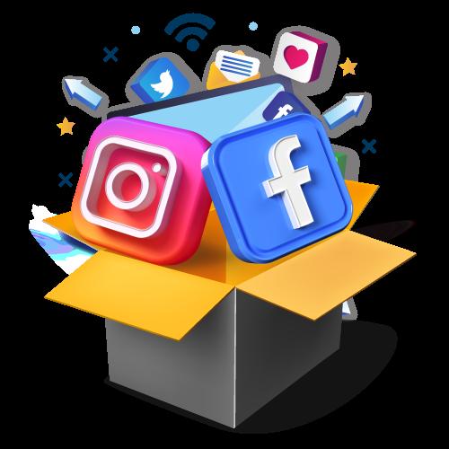 gestion réseaux sociaux design web création